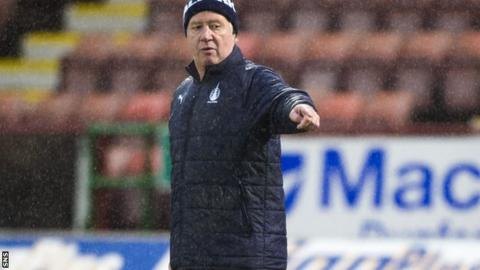 Rangers assistant manager Jimmy Nicholl