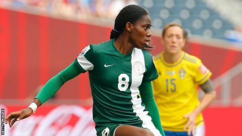 Nigeria's Asisat Oshoala