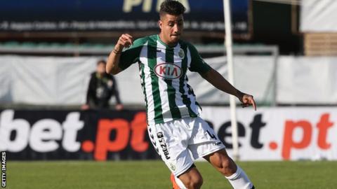 Rangers defender Fabio Cardoso