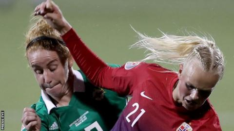 Norway showed why they reached the World Cup quarter-finals earlier this summer