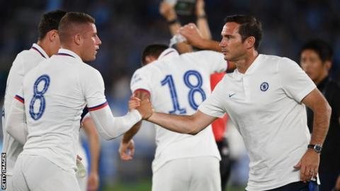 Ross Barkley: Chelsea midfielder will push on under Frank Lampard, says Carney