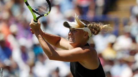 Caroline Wozniacki beats Aryna Sabalenka to triumph at Eastbourne International