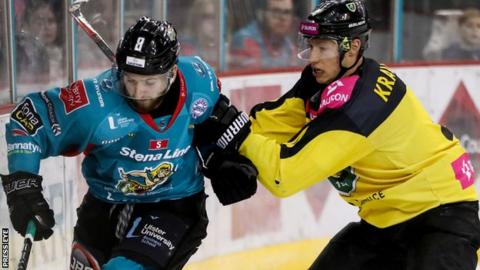 Katowice came from behind to secure an unlikely victory over the Giants at the SSE Arena