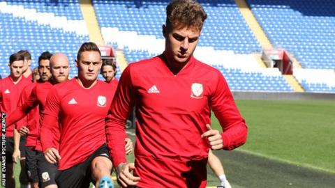 Joe Rodon has only four Wales caps but already looks an established member of Ryan Giggs' side