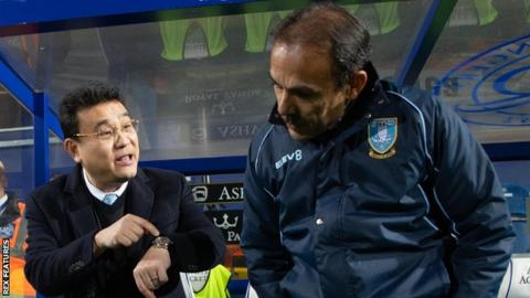 Sheffield Wednesday put up for sale by owner Dejphon Chansiri - BBC