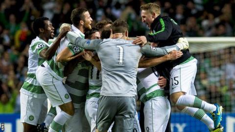 Celtic v Karagandy