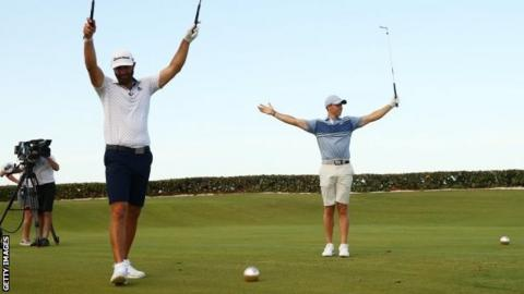 Golf's charity return was treat we needed -- down to the shorts
