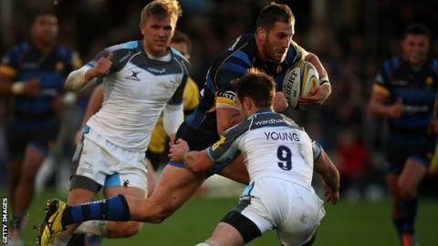 Newcastle Falcons v Worcester
