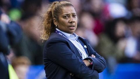 South Africa women's team coach Desiree Ellis