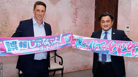 Fernando Torres joins Sagan Tosu in Japanese top flight
