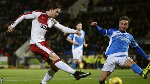 Josh Windass and Chris Millar