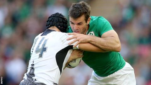 New Zealand-born Jared Payne has won 10 caps for Ireland