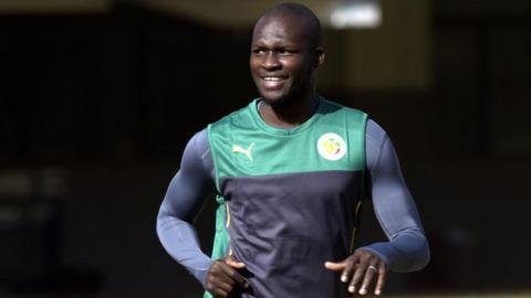 Moussa Sow of Senegal