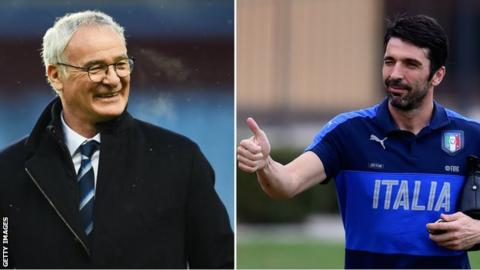 Buffon and Ranieri