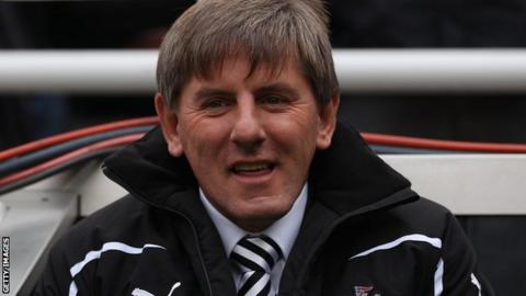Peter Beardsley is no longer employed by Newcastle