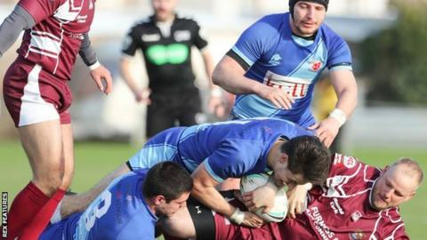 Red Star played in blue on their first trip to Cumbria