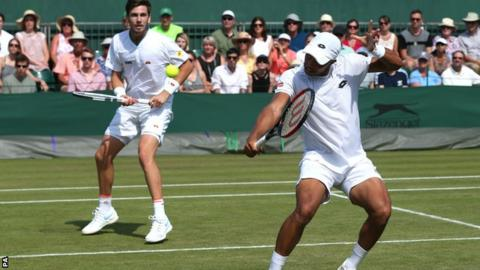 British pair Jay Clarke and Cameron Norrie