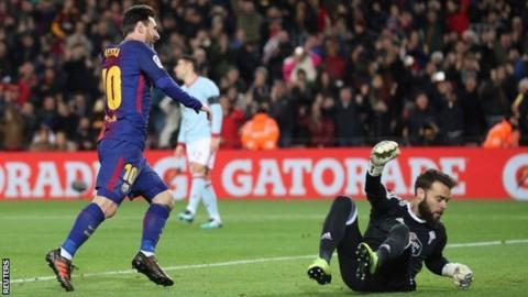 Barcelona 5 - 0 Celta Vigo Football Highlights 11/1/2018