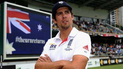 Alastair Cook after England lost the Ashes in 2013