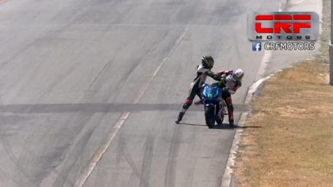 Watch: Riders fight during motorbike race in Costa Rica
