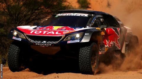 'Proudest son' Sainz congratulates father on Dakar Rally win