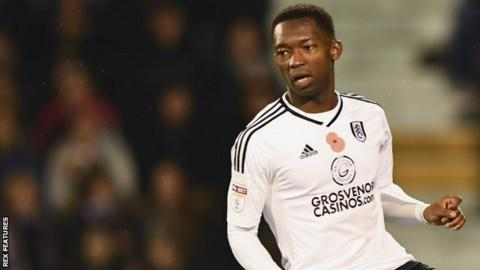 Tayo Edun in action for Fulham