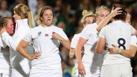 England react after losing