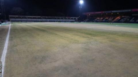 Rochdale's pitch