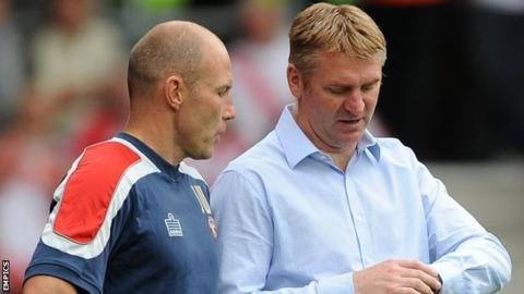 Club physio Jon Whitney assisted previous Saddlers boss prior to his departure to Brentford in November