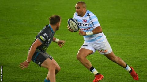 Simon Zebo's try against Ospreys was the Ireland full-back's first this season