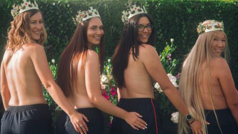 Kings Club women's bowlers