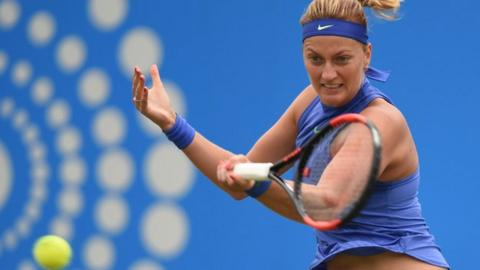 Petra Kvitova reaches Birmingham final