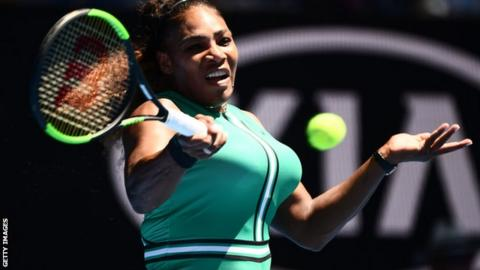 Australian Open Glance: Serena Williams vs. Halep in 4th Rd | AP sports