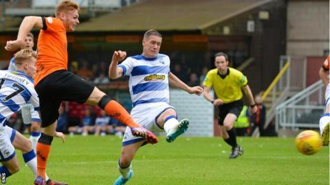 Fraser Fyvie scores for Dundee United
