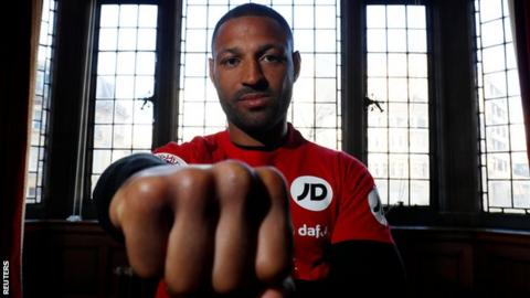 Kell Brook stuns Sergey Rabchenko with second-round knockout