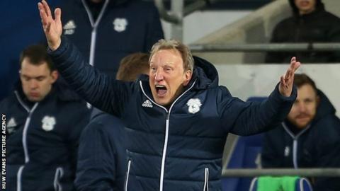 Neil Warnock annoyed