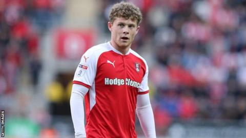 Matt Palmer made just 10 league appearances for Rotherham in 2018-19 as they were relegated from the Championship