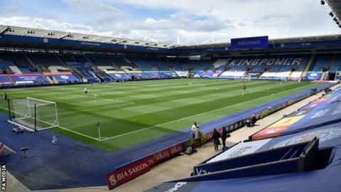 Leicester are due to face Crystal Palace at the King Power Stadium on Saturday