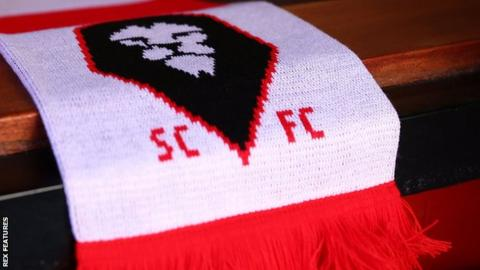 Salford City scarf