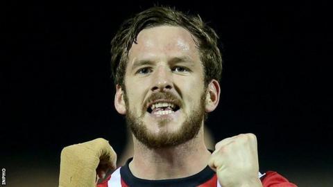 Ryan McBride of Derry City