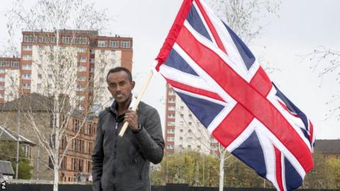 Tsegai Tewelde has been living and running in Glasgow since he was 17