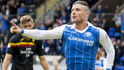 Michael O'Halloran is back at St Johnstone for a third time