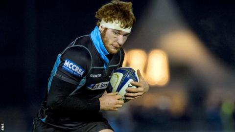 Glasgow Warriors forward Rob Harley