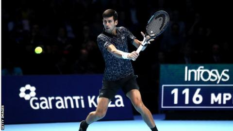 Novak Djokovic delivers fury from serve to oust Marin Cilic — ATP Finals
