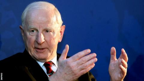 Pat Hickey spent two weeks in a Rio prison after being arrested during last year's Olympic Games