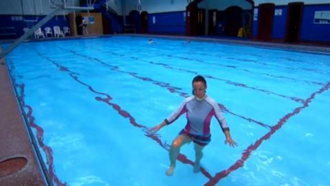 Make Your Move swimming pool challenge