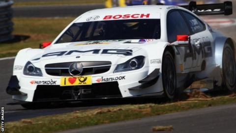 Di Resta returned to the German Touring Car Championship in 2014