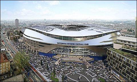 Tottenham's new stadium
