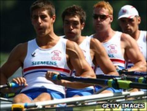 (L-R) Sam Townsend, William Lucas, Marcus Bateman and Charles Cousins