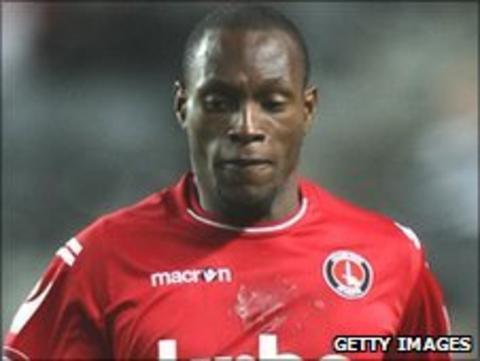 Charlton Athletic winger Kyel Reid